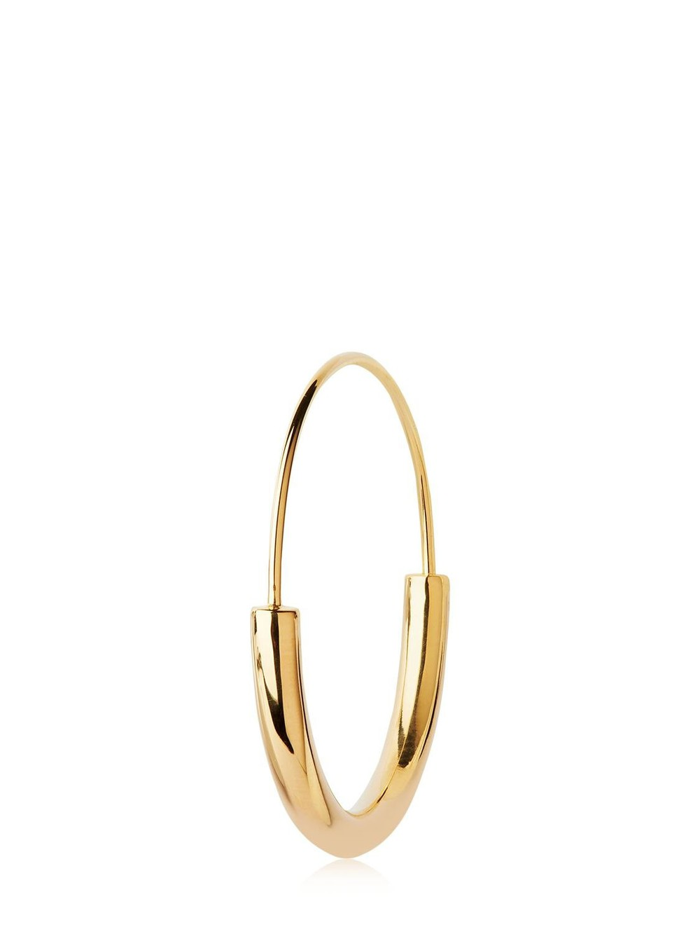 MARIA BLACK Medium Serendipity Hoop Mono Earring in gold