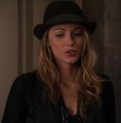 hat,gossip girl