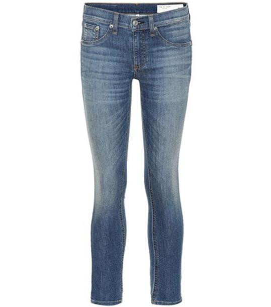 Rag & Bone Ankle Skinny jeans in blue
