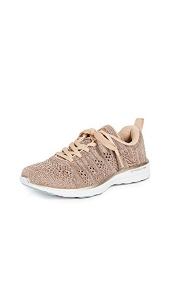 APL: Athletic Propulsion Labs sneakers rose gold rose gold shoes
