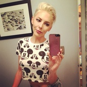 top,disney,mickey mouse,mickey mouse shirt,crop tops