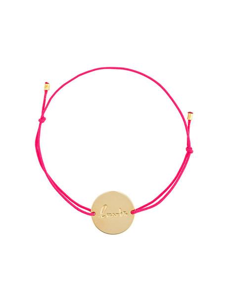 Malaika Raiss women gold purple pink jewels
