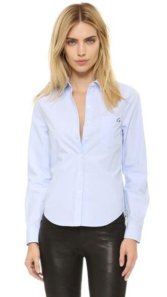 blouse london blue top