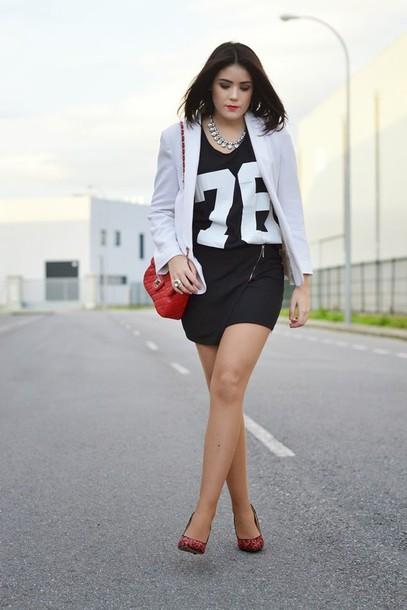 si las calles hablasen bag skirt t-shirt jewels