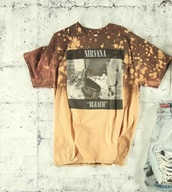 shirt,nirvana bleach tee,bleach,nirvana t-shirt,mens t-shirt