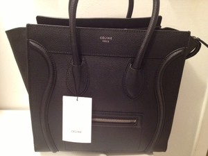 celine luggage mini pebbled