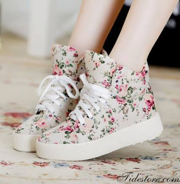 shoes flowers summer