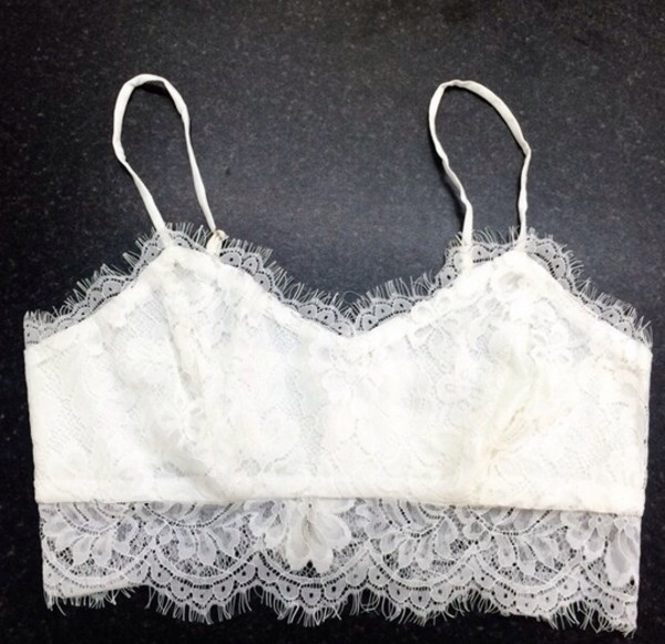 top crop tops lace