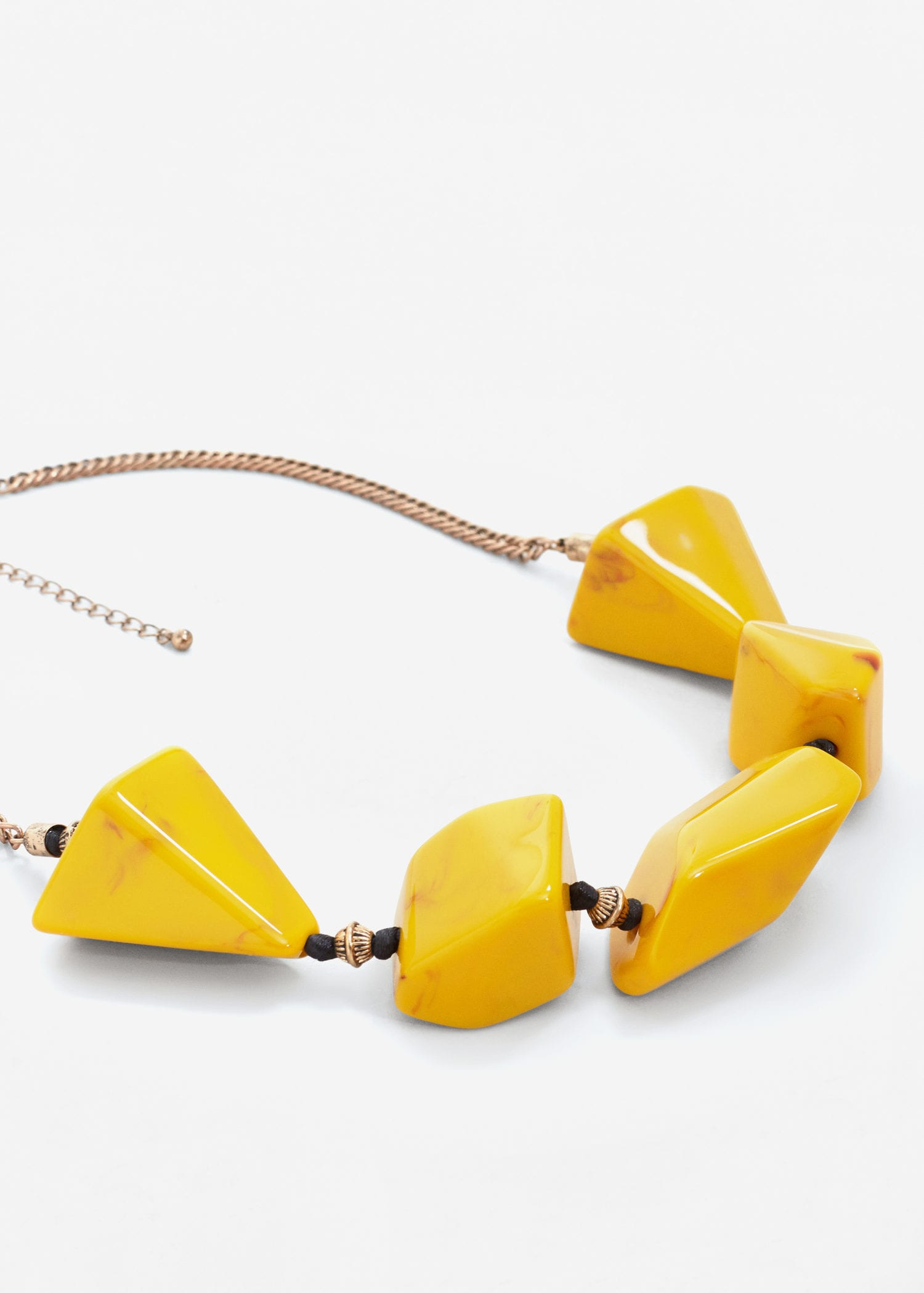 Mixed piece necklace - Women | MANGO USA