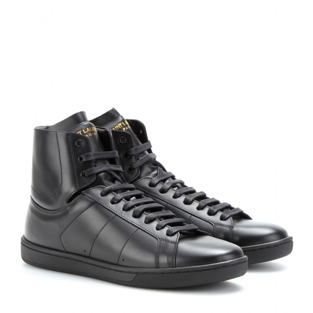 6e9615a0ab7d mytheresa.com - Leather high-tops - Sneakers - Shoes - Luxury ...