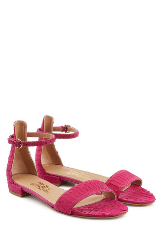sandals magenta shoes