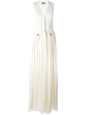 dress maxi dress maxi women spandex white silk