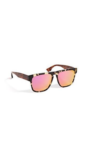 McQ - Alexander McQueen sunglasses pink brown