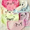 Jfashion harajuku anime face expressions underpants for young girls -himifashion