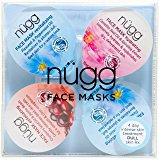 Amazon.com : nügg Face Mask Pallete for Radiant and Dewy Skin; Pack of 4 Face Mask Pods to Soothe, Exfoliate, Hydrate and Revitalize Skin (4 x 0.33fl.oz.) : Beauty