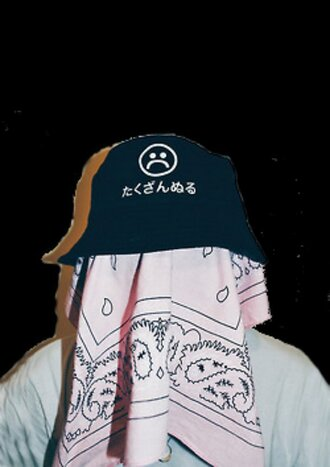 hat sad sad boys 2001 black grunge cool amazing