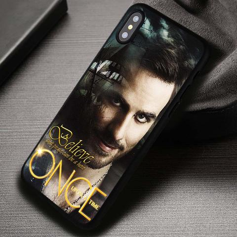 The Sexy Pirate Captain Hook Once Upon A Time - iPhone X 8  7 6s SE Cases & Covers #iPhoneX
