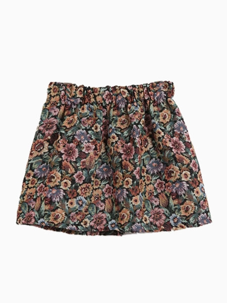 Skater Skirt In Floral Print | Choies
