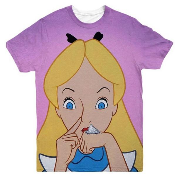 T Shirt Dope Grunge T Shirt Grunge Alice In Wonderland Wheretoget