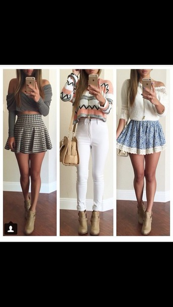 skirt style fashion