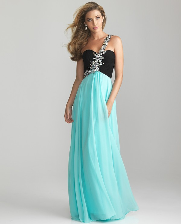 dress cute dress sparkly dress blue dress light blue jewels bling long dress prom dress senior mint blue sexy dress