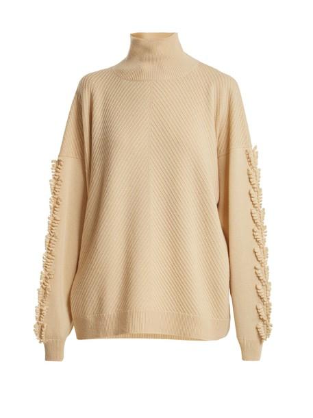Barrie sweater beige