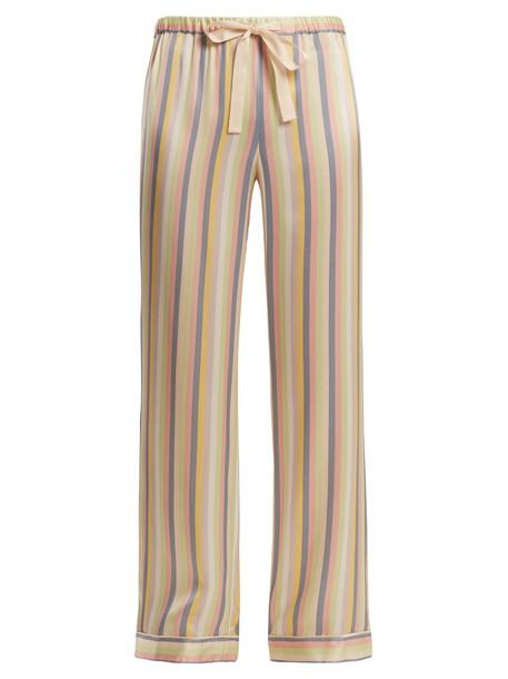 MORGAN LANE silk pants