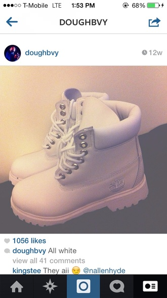 shoes white cocaine boots trill fashion trap hip hop timberlands