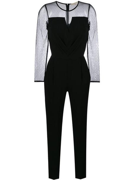 MICHAEL Michael Kors jumpsuit mesh women spandex black