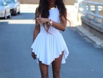 dress white whitedress short classy classy dress
