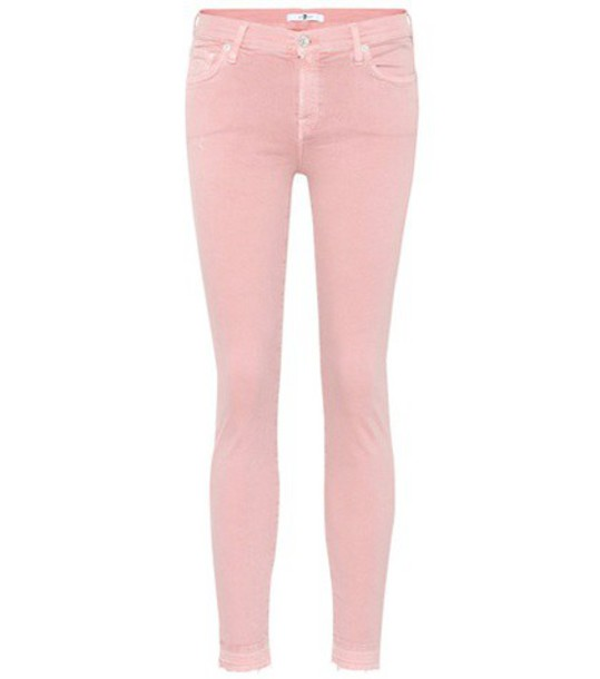 7 For All Mankind jeans pink