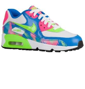 shoes pink blue green white nike nike shoes nike running shoes nike air nike sneakers air max nike air max 90 sportswear running shoes