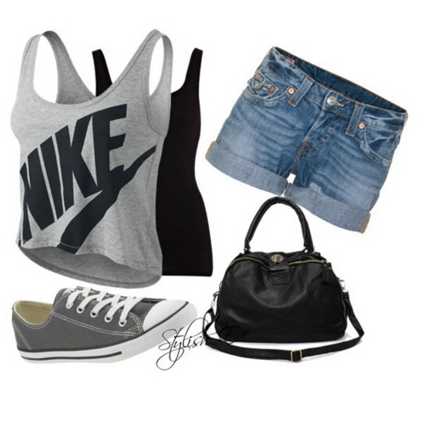 NIKE SHORTY Womenu0026#39;s Tank Top - Polyvore