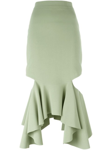 Givenchy skirt peplum skirt