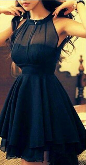 dress bl black dress