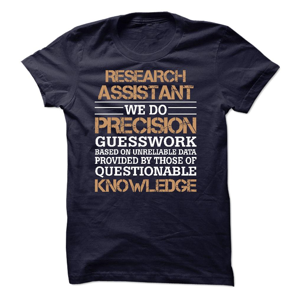RESEARCH ASSISTANT SHIRT 2015 T-Shirt, Hoodie - HUMAN T-SHIRTS