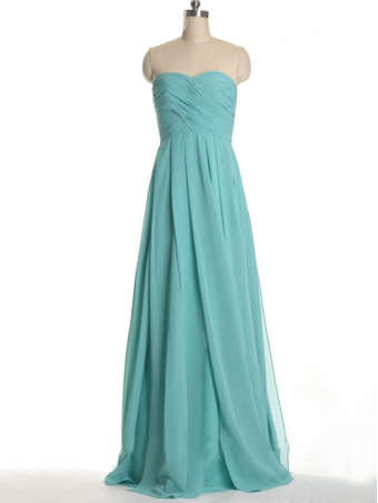 Glamorous A-line Sweetheart Neckline Sweep Train Prom Dress [B00166] - $139.99 : 24inshop