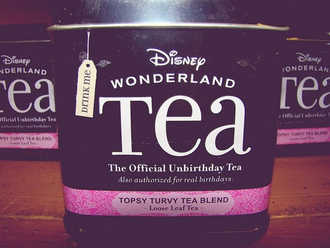bag tea food drink ebay disney alice in wonderland gift ideas