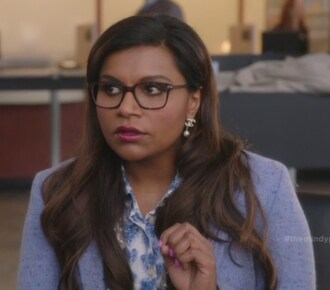 blouse blushing ambition blazer mindy kaling mindy lahiri the mindy project