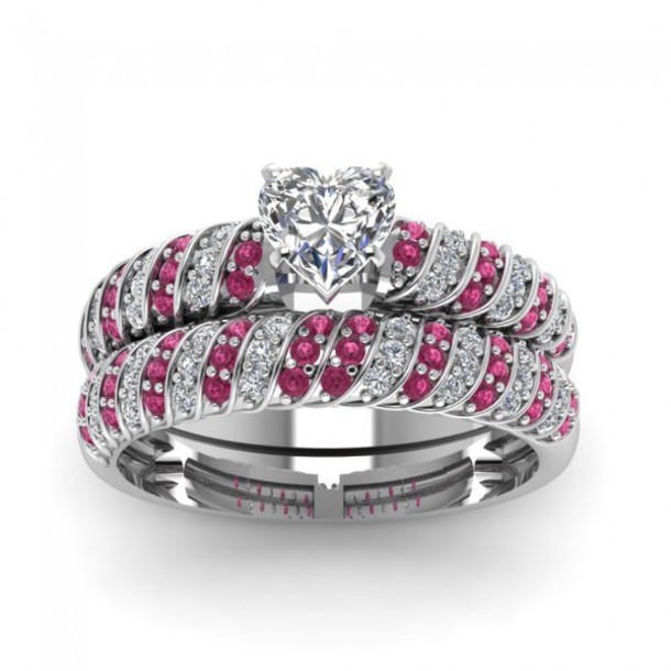 Jewels evolees evolees rings gorgeous bridal ring set magnificent rope de
