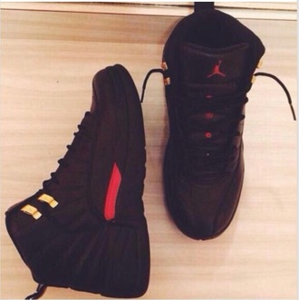 tank top jordans 23 must have shoes style swag dope micheal jordan black shoes red shoes