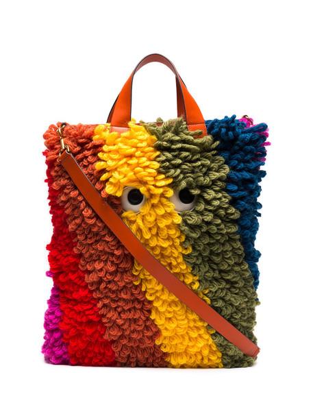 Anya Hindmarch women leather wool bag
