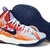 Kevin Durant 5 Niek Zoom KD Basketball Shoes Orange Navy Graphic PE