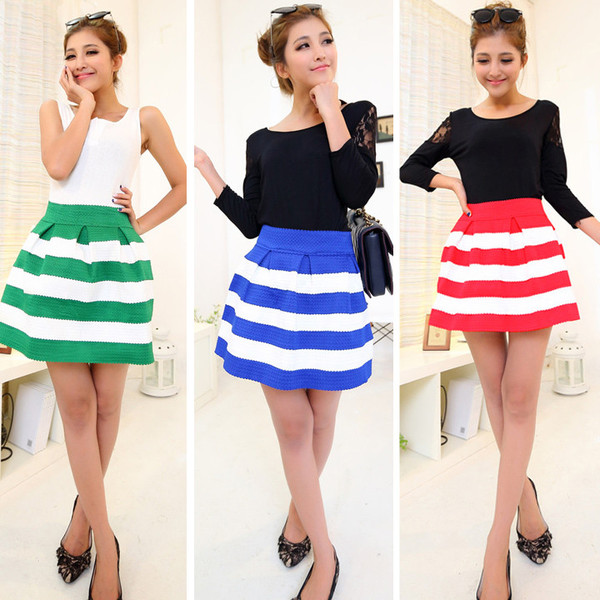 Blinda Bubble Skater Skirt | Outfit Made