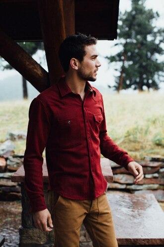 shirt red shirt