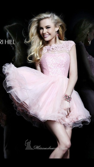 homecoming dress prom dress pink dress pink sunglasses pink lace dress lace up lace lace cami sparkle tulle skirt tutu skater skirt dress skater dress skater blonde hair model fashion style cute dress cute cute high heels tumblr outfit tumblr tumblr girl tumblr dress sherri hill