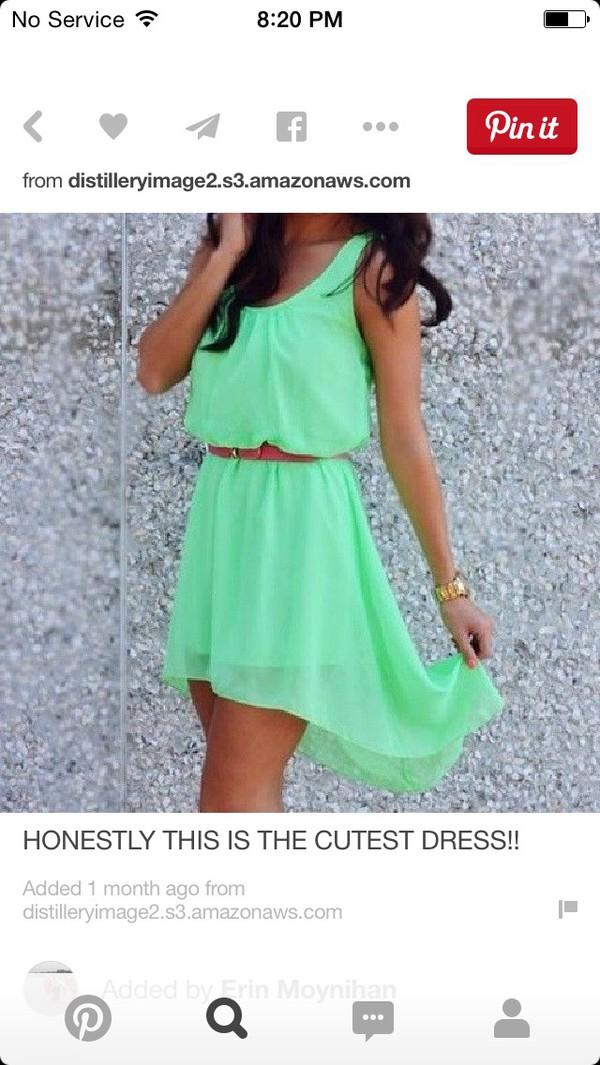 dress summer dress blue dress belt wheretoget