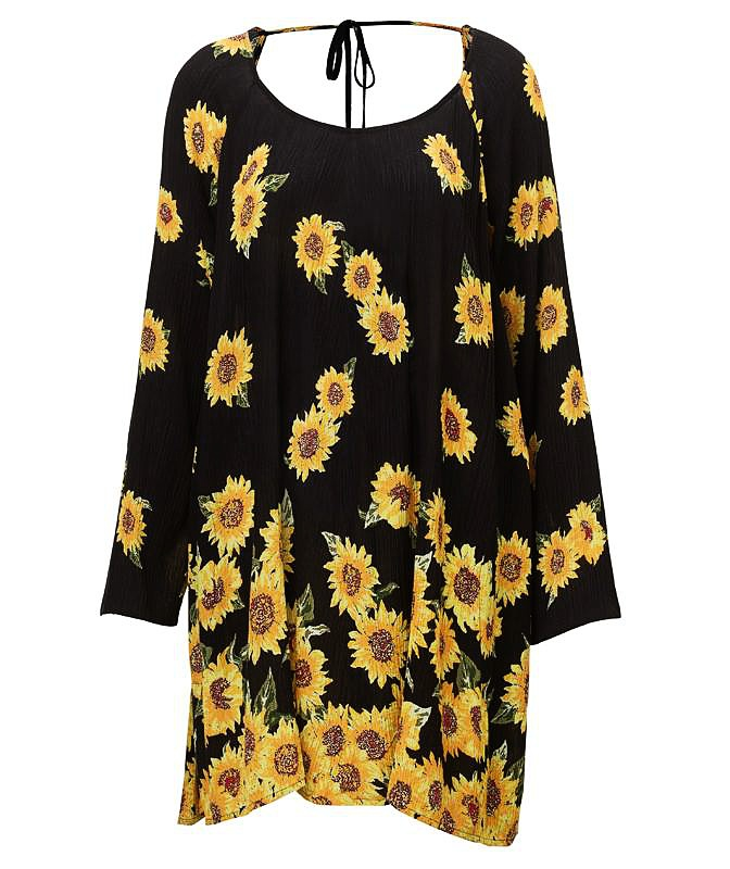 Sunflower Swing Dress - $89.95