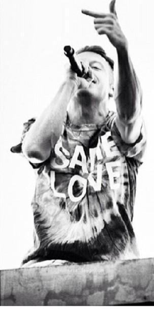 shirt macklemore same love t-shirt cute ryan lewis hipster rnb rapper menswear