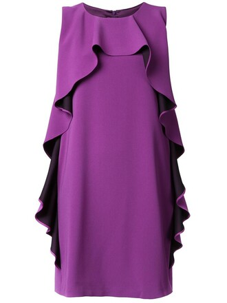 dress women purple pink
